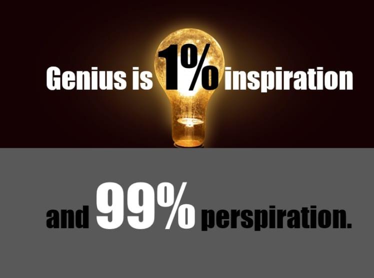 努力 の 1 パーセント