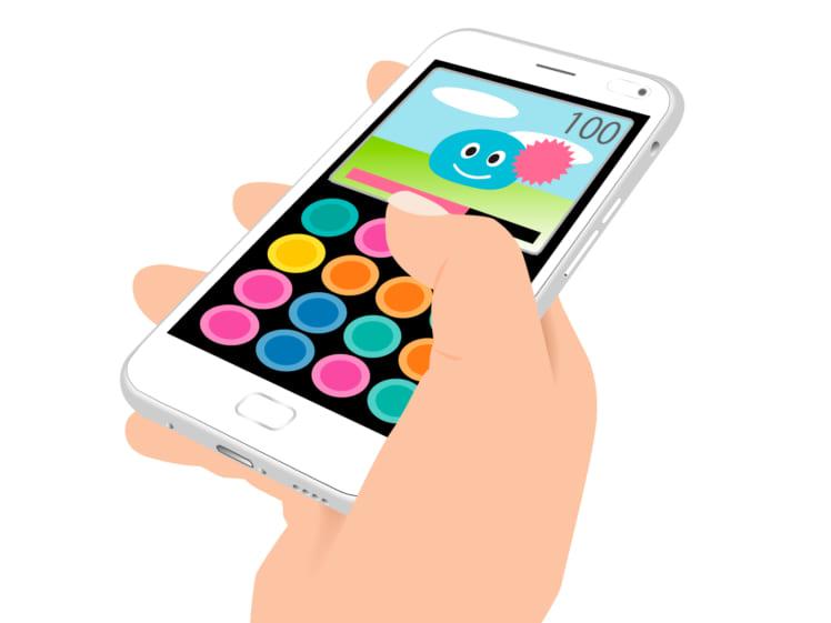 ソーシャルゲームのプレイ画面