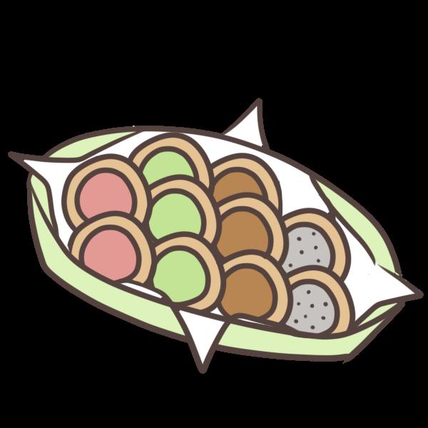 様々な種類のクッキーが並んでいると、ウキウキします