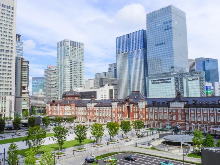 東京駅、丸の内駅舎