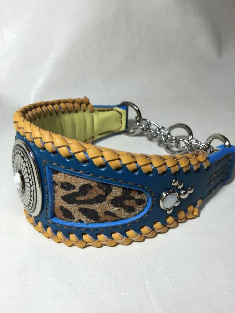 過去に制作していた犬の首輪