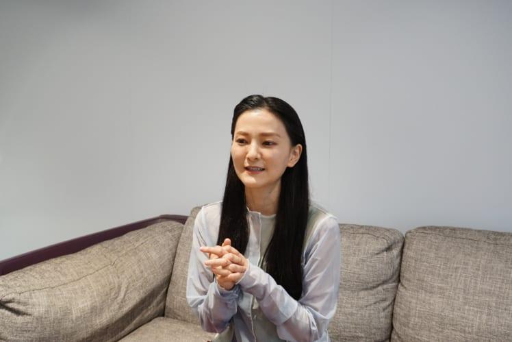 石垣優さん インタビューカット